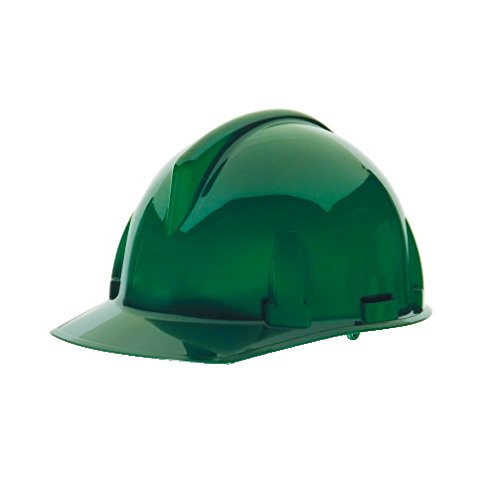 MSA 475383 Topgard Slotted Protective Cap with Fas-Trac Suspension, Standard, Green ()