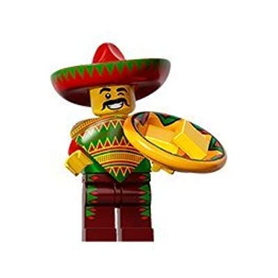 LEGO Taco Tuesday Guy #12 The Movie Minifigure Series Set 71004SEALED Retail Packaging: Beauty