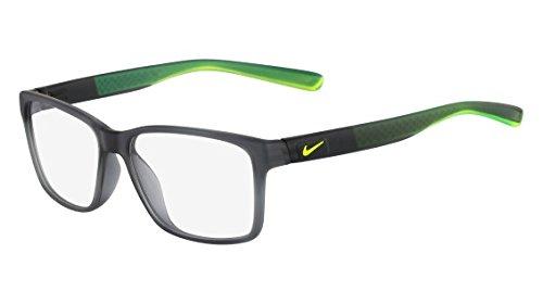 Eyeglasses NIKE 7091 065 MT CRYSTAL DK GRY/CRYSTAL VOLT by NIKE