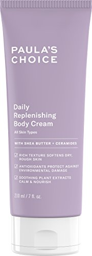 Paula's Choice Daily Replenishing Body Cream | Shea Butter, Jojoba & Squalane | Fragrance Free Moisturizer | 7 Ounce ()