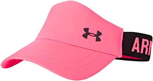 Under Armour Damen Sportswear Caps Visor, Harmony Rosa, OSFA, 1277414