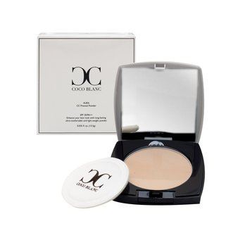2016 Best Glow Dewy Elegant Look Coco Blanc Aura Glow Pressed Powder No.2 Nude Champagne Spring Luminous Dewy Look - Spring Shopping Hill