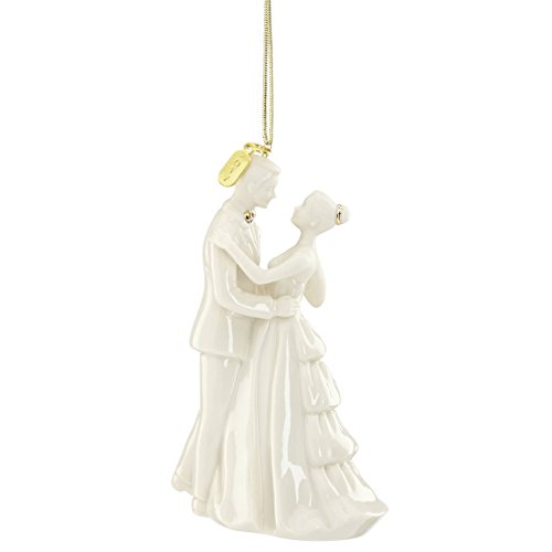 Lenox Annual China Ornaments 2017 Bride & Groom