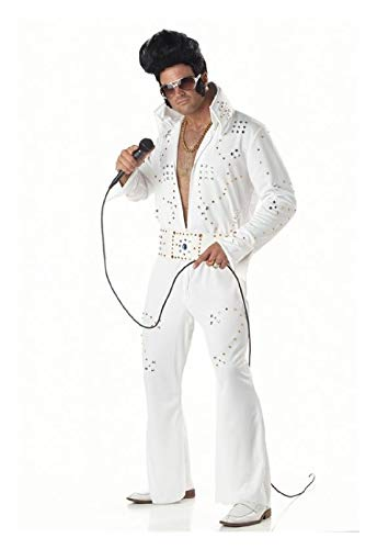 Rock Star Jeweled Elvis Adult Mens Costume