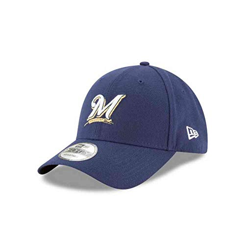 MLB The League Milwaukee Brewers Game 9Forty Adjustable Cap ()