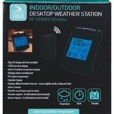 JOURNEYS EDGE Indoor/Outdoor Desktop Weather Station RF 433MHz Wireless