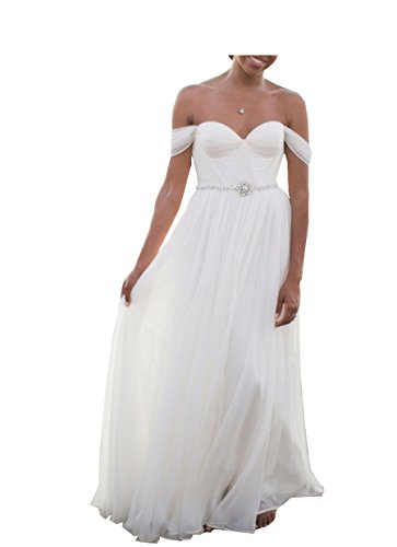 Qing Wedding Dress Beach Plus Size Wedding Gowns Bride Dresses For ...
