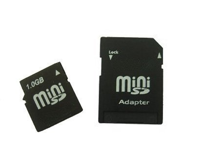 1GB MiniSD Secure Digital Card 1G For Mini SD 1G Nokia with (1gb Minisd Secure Digital Memory)