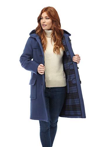 Original Montgomery Womens Duffle Coat - Indigo Size 6 (Wool Duffle Coat Women)