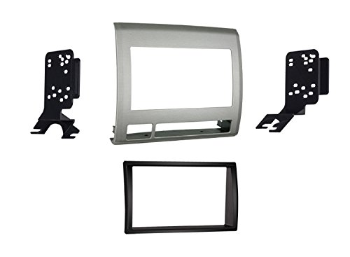 Metra 95-8214TG Double DIN Dash Kit for Toyota Tacoma 2005-2011 Vehicle (Gray)