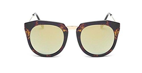 GAMT Retro Sunglasses Vintage Wayfarer Style Cateye HD Lens UV400 Amber Gold - Sale Quay Sunglasses On