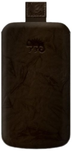 5800 Leather (Katinkas Premium Leather Case for Nokia 5800 XpressMusic Washed - 1 Pack - Retail Packaging - Brown (402031))