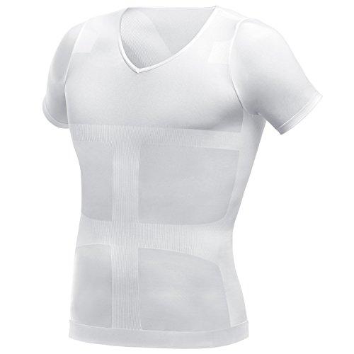 La-VIE(라브) 가압 이너 셔츠 대단하네요 가압 셔츠 M사이즈 컬러 화이트 3B-3750
