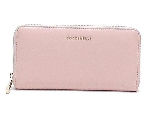 7fd61bb5e2 Coccinelle portafogli donna, modello UW5 113801, portafogli multiscomparto  in pelle saffiano, colore rosa: Amazon.it: Scarpe e borse