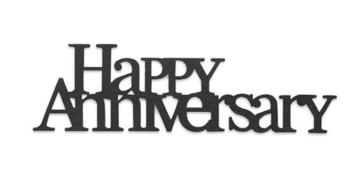 Demdaco Embellish Your Story Happy Anniversary Phrase -