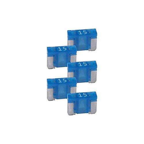 Audiopipe 15A Low Profile Mini Fuse 10 Pack
