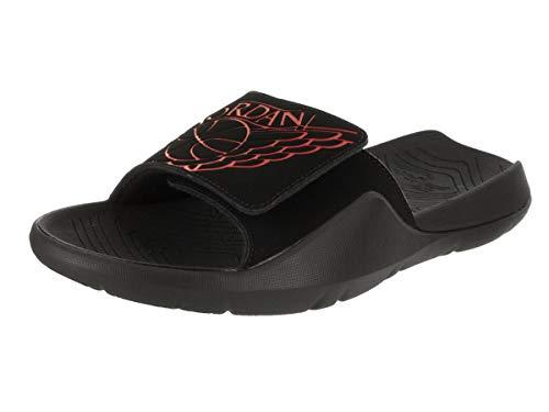 255aafe7e754e6 Galleon - Jordan Nike Men s Hydro 7 Black University Red Black Sandal 9 Men  US