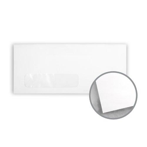 Printmaster White Envelopes - No. 8 5/8 Check Window (3 5/8 x 8 5/8) 24 lb Writing Wove 5000 per Carton by National Envelope Printmaster