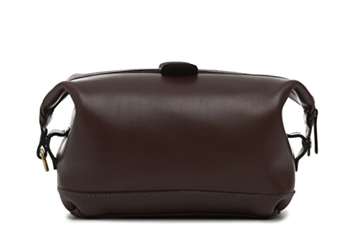 Korchmar Lux Col Ryder Toiletry Kit Mahogany by Korchmar