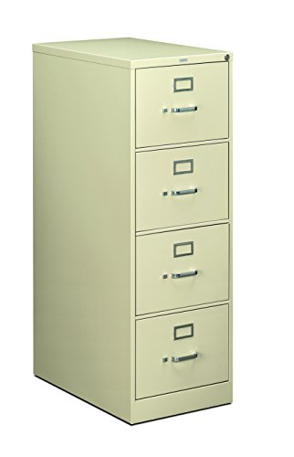 HON 210 Series Locking Vertical Filing Cabinets-Legal File,