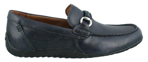 Clarks Mens Plateau Class Mocassino In Pelle Marina
