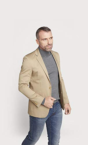 Beige Veste Coton Regular Fit En pwwdqAH
