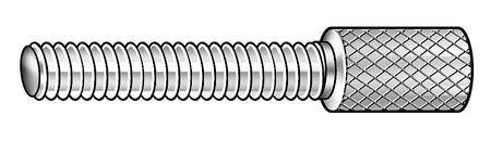18-8 SS Thumb Screw 8-32x1 L Knurl