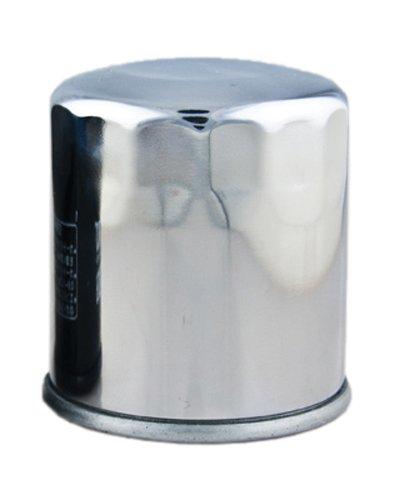 Hiflofiltro HF303C-3 3 Pack Chrome Premium Oil Filter 3 Pack