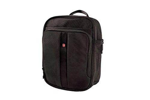 - Victorinox Vertical Travel Companion, Black/Red Logo