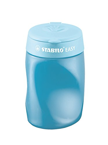 STABILO EASY Dosenspitzer 3in1 links blau