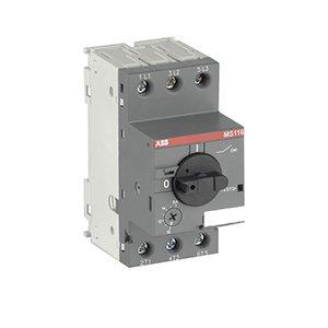 Abb ms116 1 6 manual motor starter 1 1 6 a hp for Abb manual motor starter