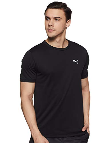 Puma Men's Plain Regular Fit Active Base Layer Shirt