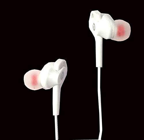 Samsung Galaxy A50 White Earphone with Mic and Noise Isolating Sports Earbuds, Designed for Jogging,Excercise and Gym…