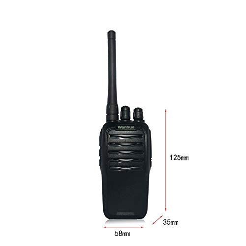 Nelc5kl Walkie Talkies Rechargeable Long Range Two-Way Radios with UHF 403-470Mhz Walkie Talkies 2200 mAh Li-ion Battery and Charger Included Radio (Size : E) by Nelc5kl (Image #1)
