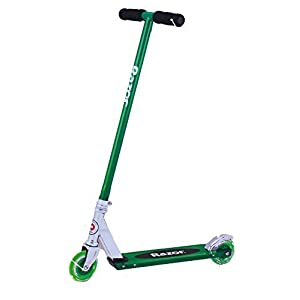 Razor S Light-Up Wheels Kick Scooter (Blue, Green or Purple) (Green)