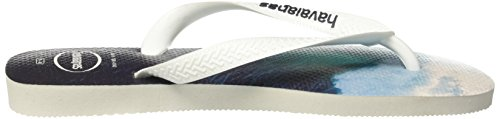 navy Blue White white Homme Blue Tongs Blanc navy Havaianas white Hype nWwqU4c4A