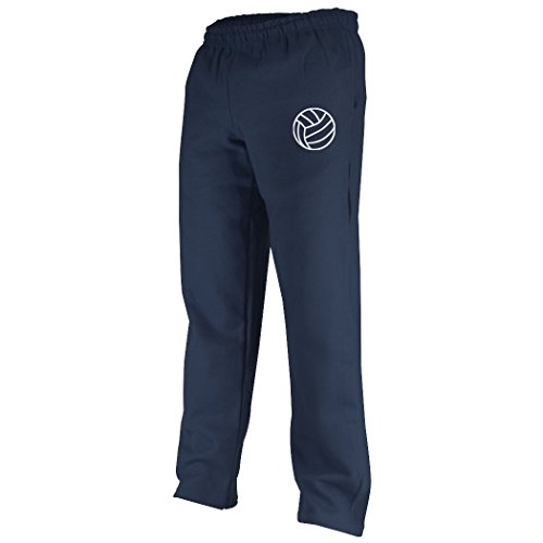 Silhouette Sweatpants | Volleyball Apparel by ChalkTalk SPORTS | Navy | Youth Medium