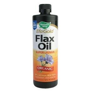 Nature Way huile de lin savoir Lignan, 24 onces