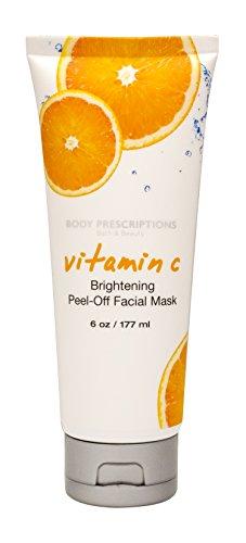 Body Prescriptions - Vitamin C Brightening Peel-off Facial Mask
