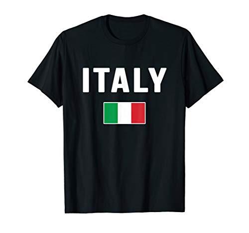 Italia T-shirt Italian Flag Italy Gift Love Souvenir