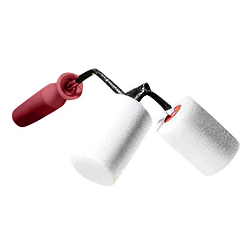 Geetobby Paint Brush Dual Coating Rolls Help Paint Railings Corner Roll All Painting Tool Paint Roll