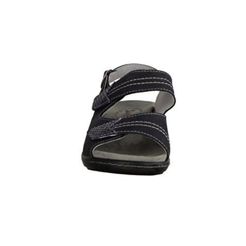 cuir Slowlies lose sandale bleu nubuck 419–159–chaussures confortable insert 177Bqwzgx