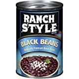 Ranch Style Black Beans, 15 Oz., (Pack of 4)
