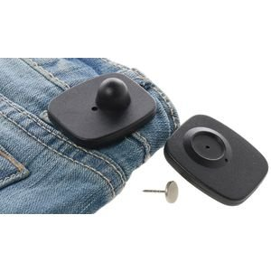 dad053d6c30a Clothing Security Tags, RF Frequency, Pack of 50