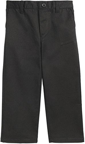 - French Toast School Uniform Boys Pull On Pants, Black, 10