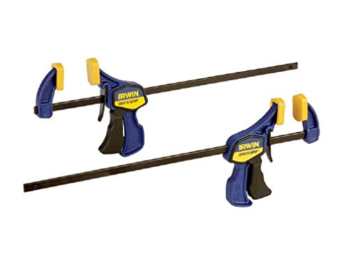 - IRWINQUICK-GRIPOne-Handed Mini Bar Clamp 2 Pack, 12