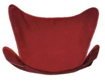 Burgandy Butterfly Chair Cover