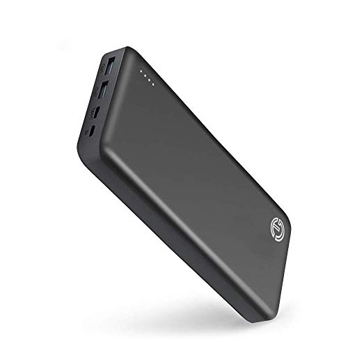 The Tanker 45W PD 26800mAh Portable Charger by J-Go Tech | Fastest Recharge Time | USB C Input & Output | Power Delivery Charging for Laptops, Nintendo Switch, Tablets and Mobile Phones