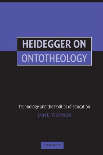 Heidegger on Ontotheology: Technology and the Politics of Education