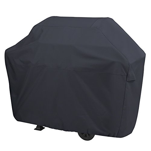 AmazonBasics Gas Grill Barbecue Cover, Small, Black (Patio Grill Veranda Cover)